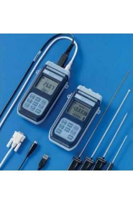 Termometri professionali / PT100 Con datalogger 2 ingressi HD2127.2