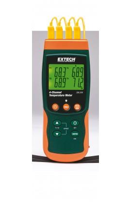 Termometri professionali/Termocoppie Con datalogger 4 ingressi SDL200