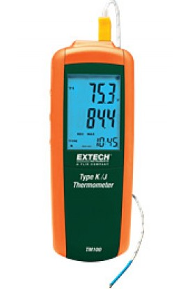 Termometri professionali/Termocoppie Display retro illuminato TM100