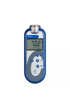 Termometri bluetooth/Alimentare Termocoppie tipo T e sonde NTC BT42C