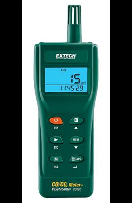 Misuratore di Co, CO² temperatura ed umidità portatile mod. CO260